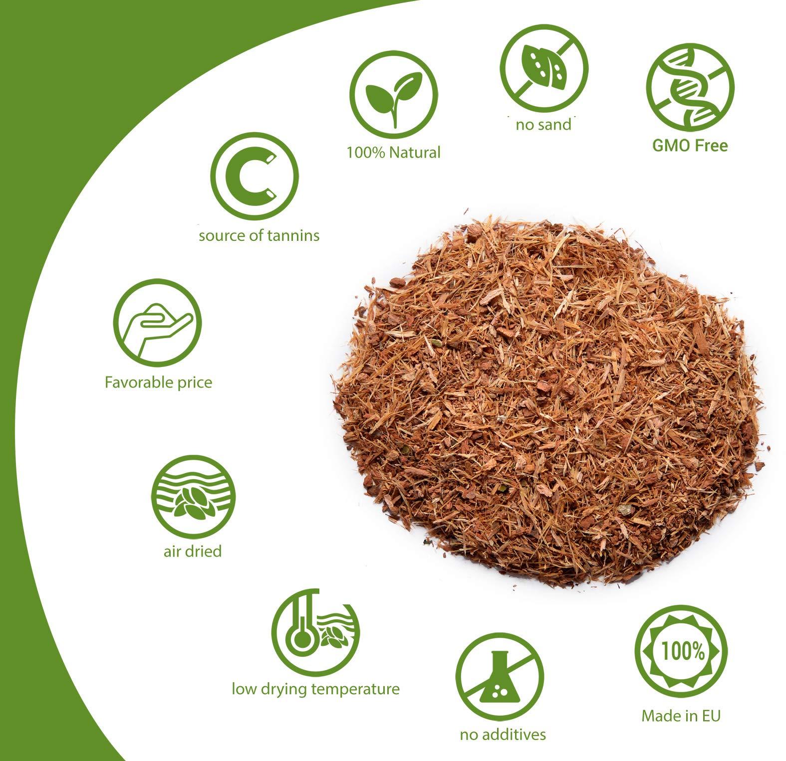 HerbaNordPol-Eichenrinde-geschnitten-sorgfltig-verarbeitet-1KG-Quercus-Cortex