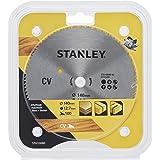 Stanley STA10080-XJ CV-tvärsnittssågblad (100 tänder, 140 mm diameter, 12,7 mm borrning, lämplig för Black+Decker maskiner, a
