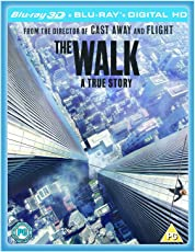 The Walk [Blu-ray 3D + Blu-ray] [2015] [Region Free] IMPORT