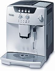 De'Longhi Magnifica ESAM 04.110 B Kaffeevollautomat (Direktwahltasten und Drehregler, Milchaufschäumdüse, Kegelmahlwerk 13 Stufen, Herausnehmbare Brühgruppe, 2-Tassen-Funktion)