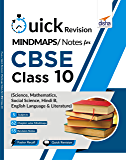 Quick Revision MINDMAPS/ NOTES for CBSE Class 10 Science, Mathematics, Social Science, Hindi B & English Language & Literature
