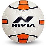 Nivia Simbolo Football, Size 5  White/Orange