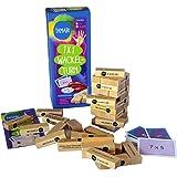 1x1 lernen: Mathematik Spiele & Rechenspiele - Einmaleins Spiel: Tamabi 1x1 Wackelturm aus Holz, 1x1 spielerisch lernen mit Lernspiele ab 6 Jahre für mehr Lernspaß