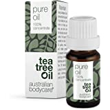 Australian Bodycare 100% Pure Tea Tree Olie, 10 ml | Onze Tea Tree Olie is Puur en door Farmaceuten Goedgekeurd