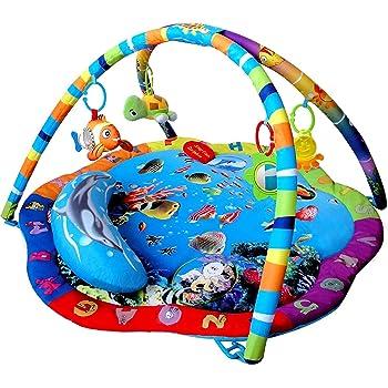 Disney Baby Mr Ray Ocean Lights Activity Gym Amp Play Mat