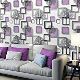 Amazon Brand - Solimo PVC Self-Adhesive WallPaper, Winter Trees, 45 x 500 cm