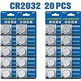 Batería de Litio CR2032 3V, botón electrónico de la célula de la Moneda para los Relojes de Las calculadoras de los Juguetes