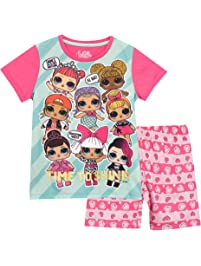 Lol Surprise Pijamas de Manga Corta para niñas Dolls
