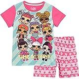 Shimmer & Shine Pijamas de Manga Corta para niñas Unicornio 4 ...
