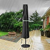 GEMITTO Couverture de Parasol, Housse Protection pour Parasol, Housse de Parasol Jardin, Nouvelle 420D Protege Parasol…