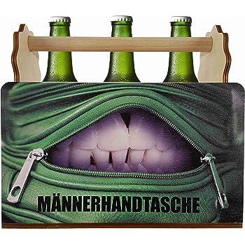 hc lasergravur biertr ger flaschentr ger m nnerhandtasche i bier geschenk f r vatertag oder. Black Bedroom Furniture Sets. Home Design Ideas