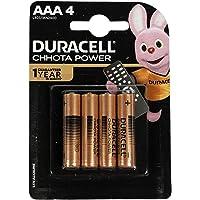 Duracell Chota Power AAA Alkaline Batteries (Pack of 4)