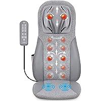 Naipo Massage du Dos Siège de Massage Coussin Massant pour Entier Dos et Cou avec -Siege Massant pour massage du cou et…