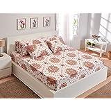 Utopia Textile Floral Pattern Bed Sheet Set