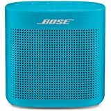 Bose 752195-0500 SoundLink Color II: Portable Bluetooth, Wireless Speaker with Microphone- Blue, 13.1 cm*5.55 cm*12.7 cm