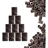 JCMaster 100× Embouts Manchons de Haute Qualité Pour Polir des Ongles et Repousser les Cuticules Autour des Pieds - Bandes de Ponçage Professionnelles Pour Manucure Pédicure #150