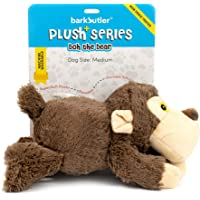 Barkbutler BOH The Bear Soft Squeaky Plush Dog Toy, Brown | for X-Small - Medium Dogs (0-20kgs)