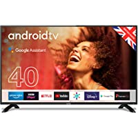 """Cello C4020G 40"""" Smart Android TV with Freeview Play, Google Assistant, Google Chromecast, 3 x…"""