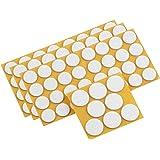 Metafranc Vilten glijders assortiment 104-delig - zelfklevend - wit - effectieve bescherming van uw meubels & stoelen/meubelg