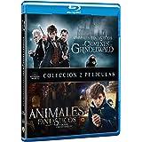 Pack: Animales Fantásticos y dónde encontrarlos + Animales fantásticos y los crímenes de Grindelwald (BD) [Blu-ray]
