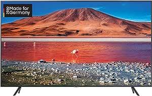 Samsung TU7079 163 cm (65 Zoll) LED Fernseher (Ultra HD, HDR 10+, Triple Tuner, Smart TV) [Modelljahr 2020]