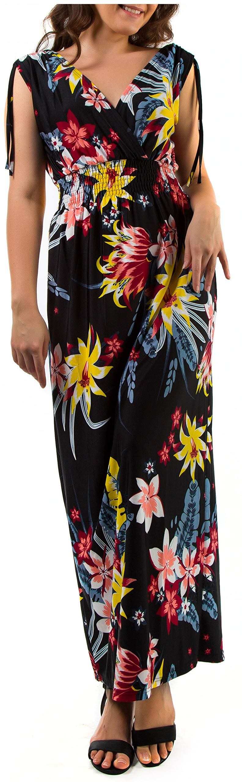 373d27ef24ab3 Home/Maxi dresses/Mia Suri Summer Ladies Floral Print Beach Casual Holiday  Maxi Day Dress. ; 