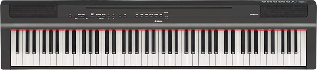 Yamaha P-125B Digital Piano