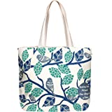 EcoRight Large Canvas Handbags for Women | Zipper Tote Bag for Grocery, Shopping, Travel, Beach | Shoulder Bags for…