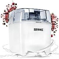 Duronic IM540 Sorbetière électrique à glace/sorbet/yaourt glacé/crème glacée - Idéal pour créer des desserts et tout…