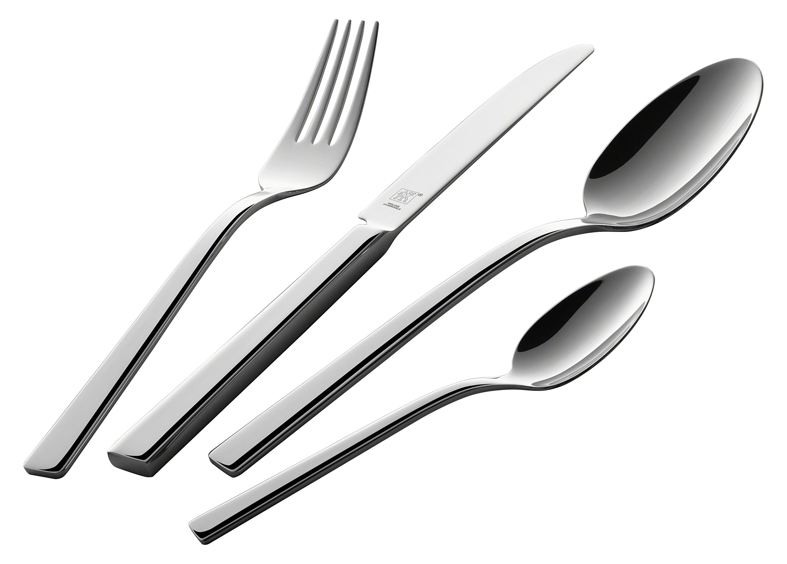 Zwilling Table Set de Cubiertos de Mesa 42 Piezas, Acero Inoxidable, 35x25x10 cm