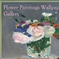 Flower Paintings Wallpaper