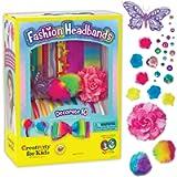 Creativity for Kids F901819 West Design Junior Selection Fashion Headbands Large Kit, Multi-Color