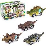 Coche Dinosaurios de Juguetes, Vehículos Dinosaurios, Animales Juguetes, Dinosaurio Tire hacia Atrás Coches, Juguetes para Pa