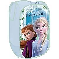 Superdiver Panier Pliable pour Enfants en Tissu avec poignées - Disney Frozen 2 La Reine des Neiges I Cube Conteneur…