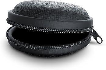 CSL - Kopfhörer Schutztasche | formstabile Nylontasche / weiches Stoffinnenfutter | schwarz