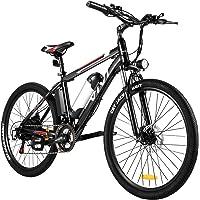 Vivi E-Bike Mountainbike 26/27.5 Zoll Elektrofahrrad 350W Elektrisches Fahrrad mit 36V 10.4/8Ah Lithium-Batterie und…