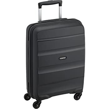 American Tourister Bon Air - Spinner, 55 cm, 31.5 liters, Bagage Cabine, Noir (Black)