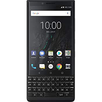 BlackBerry Key2 64GB Single-SIM Display, Android 8.1, Octa-Core, 12MP+12MP Dual - QWERTZ - nero