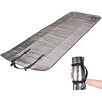 Materassino isolante, in alluminio, per esterni, 110 g, leggero, 190 x 60 cm