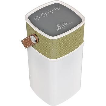 Lava BrightSounds 2 Lanterne LED  portable avec Enceinte Bluetooth/Power Bank Moutarde