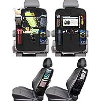 PewinGo 4 Pezzi Protezione Sedili Auto Bambini Proteggi Sedile Organizzatore Sedile Posteriore Impermeabile con 16…