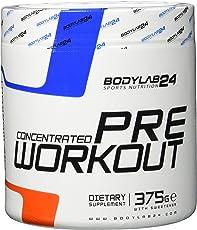 Bodylab24 Concentrated Pre Workout Geschmack: Orange, der Booster für mehr Pump und Fokus bei Deinem Training oder Wettkampf, 375g