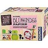 KOSMOS 604202 AllesKönnerKiste Blühendes Papier. DIY-Bastelset für Mädchen und Jungen ab 8 Jahren, das ideale Geschenk…