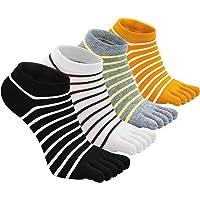 Calzini con Dita Separato Donna Calze Sportivi Cotone Morbide Moda Traspirante per scarpe da ginnastica e scarpe con le…
