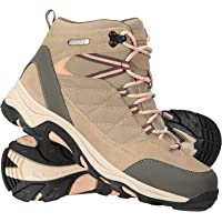 Mountain Warehouse Rapid Womens Waterproof Boots -Suede & Mesh Upper Walking Shoes, Durable Shoes, Rubber Outsole Ladies…