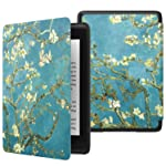 MoKo Case Fits Kindle Paperwhite , Thinnest Lightest Smart Shell Cover with Auto Wake/Sleep for Amazon Kindle Paperwhite...