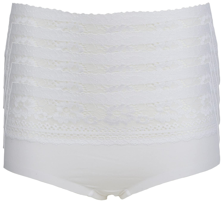 Ex Store Cotton Rich Low Rise Lace Trim Knickers