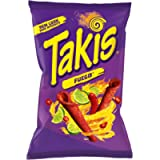 Takis Fuego Hot Chili Pepper and Lime Tortilla Chips 280 g