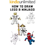 How to Draw Lego & Ninjago - Step by Step Draw characters Lego & Ninjago