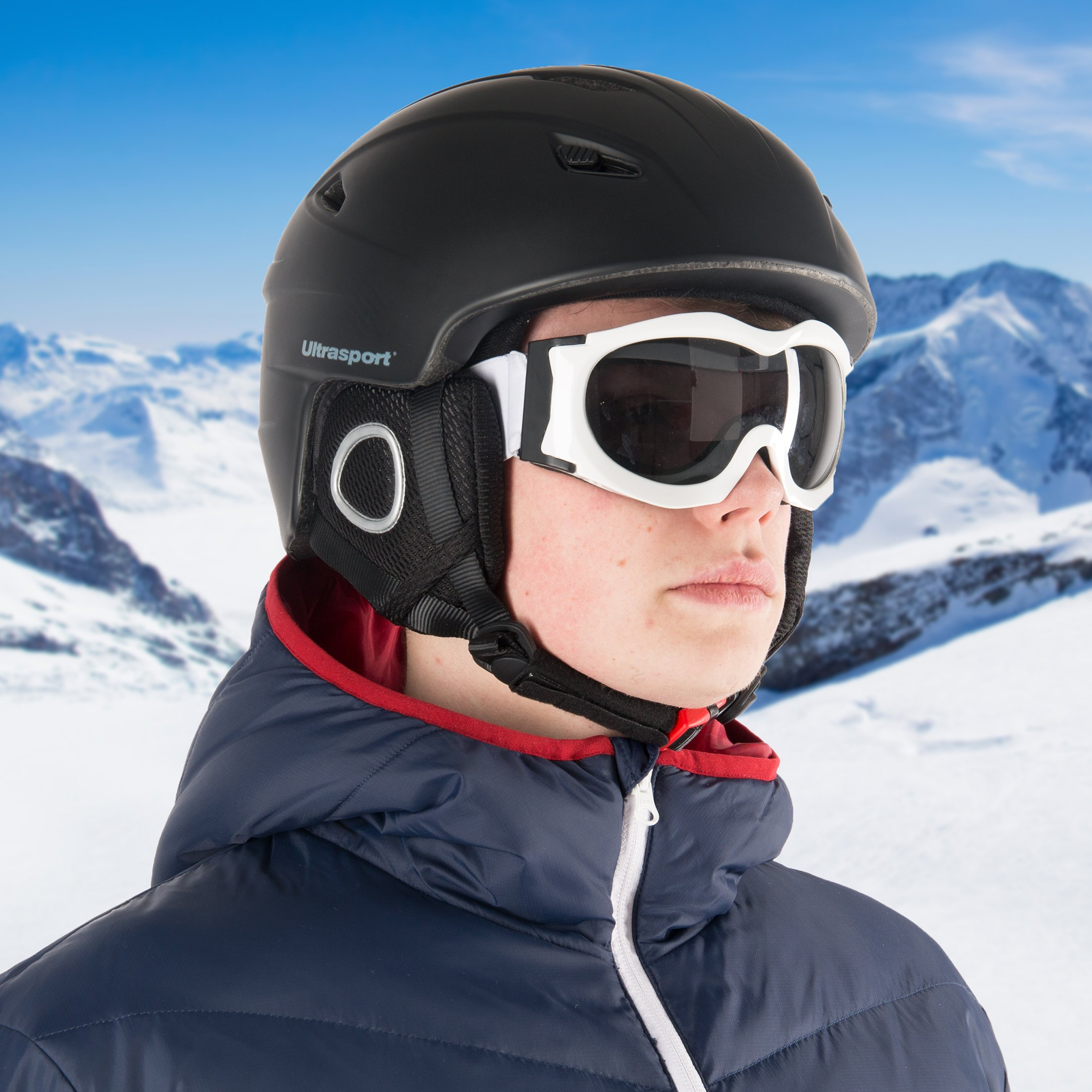 d1a1d86b5bf Ultrasport New Race Edition Casco per Snowboard